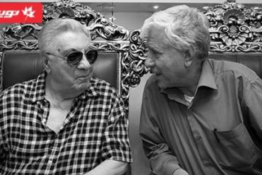 حضور اسطوره آواز ایرانی، استاد اکبر گلپایگانی در نوینچرم